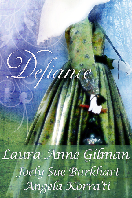 Cover for the out of print Drollerie Press Civil War anthology Defiance